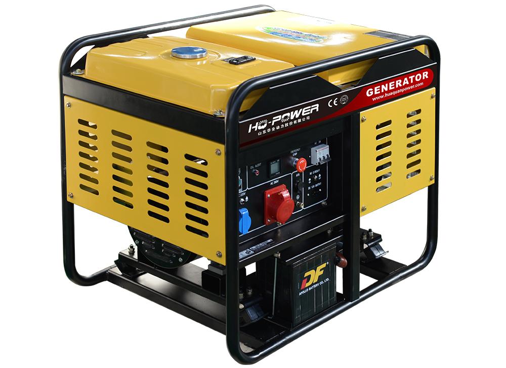 12kw柴油发电机黄色