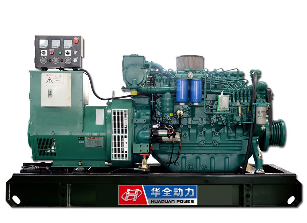120kw潍柴道依茨船用发电机组