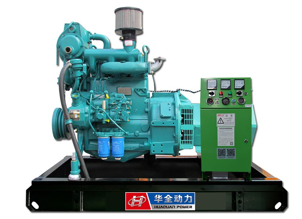 潍柴2KW船用发电机组