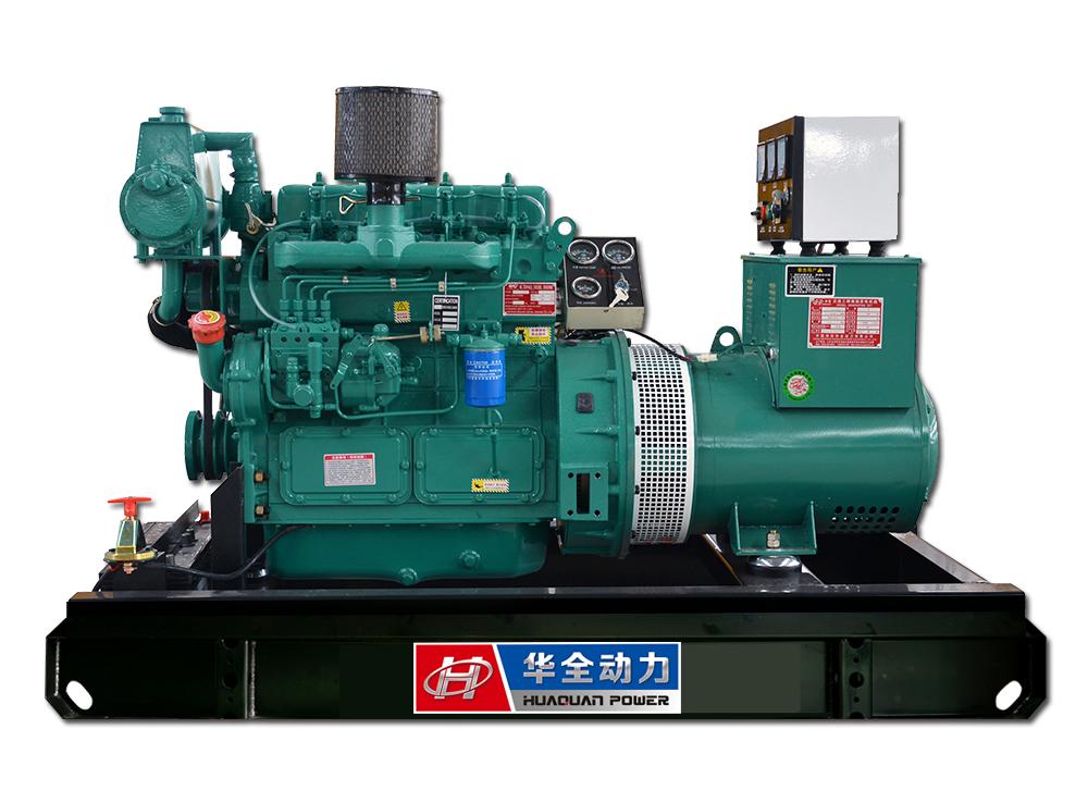 30kw潍坊系列船用发电机组
