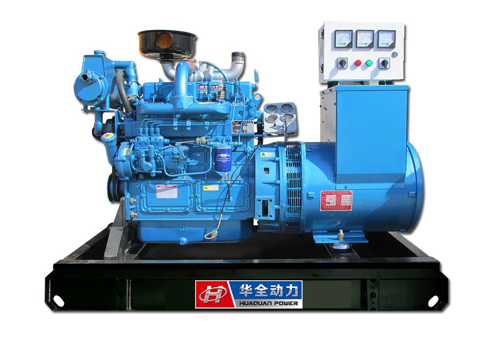 40kw潍坊系列船用全铜无刷发电机组